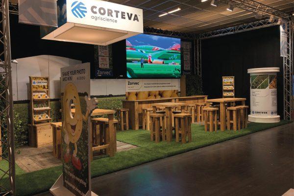 Concept & realisatie stand InterPom - Expo Kortrijk