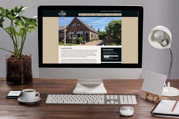 Website concept & uitvoering