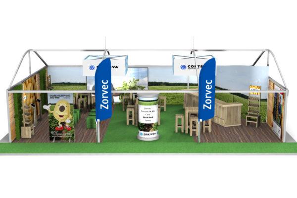 Corteva-Zorvec - Concept 3D & realisatie stand Potato Europe, Hannover
