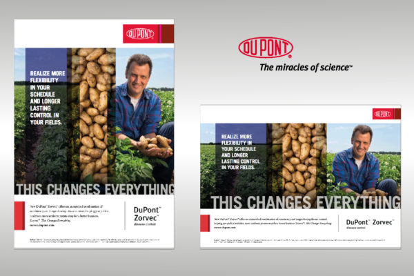 DuPont - Zorvec - ' This changes everything ' Product advertenties & brochures