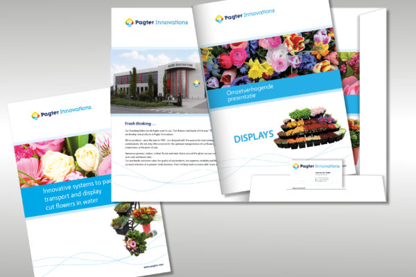 Pagter Innovations - Corporate- en productbrochures