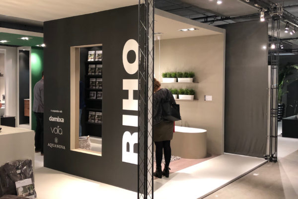 RIHO International - Standdesign ISH Noviteitenbeurs