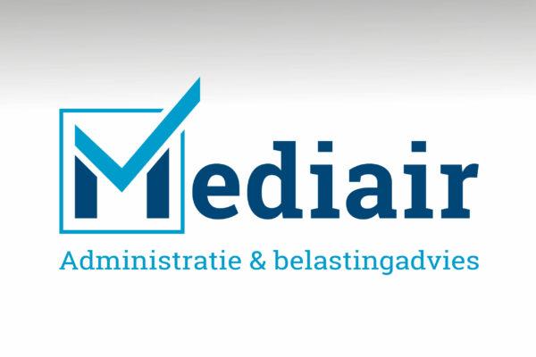 Mediair Administratie - Logo concept & corporate identity