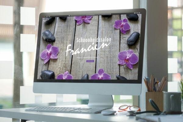 Schoonheidssalon Francien - Website concept & realisatie