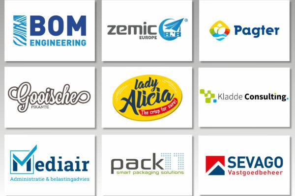 Logooverzicht - Diverse accounts
